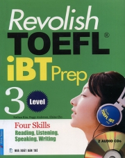 Revolish TOEFL iBT Prep Level 3 (kèm CD)
