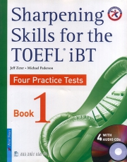 Sharpening skills for the TOEFL iBT - book 1