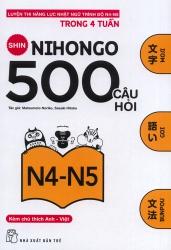 Shin Nihongo 500 câu hỏi N4-N5