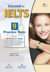 Succeed in IELTS: 9 Practice Tests (kèm CD)