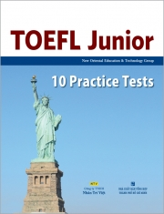 TOEFL Junior – 10 Practice Tests (kèm CD)