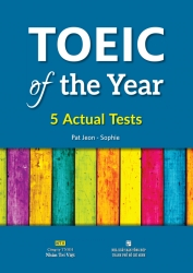 TOEIC of the Year: 5 Actual Tests (kèm CD)