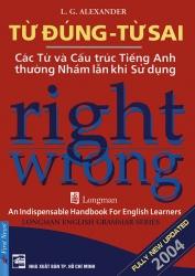 Từ đúng Từ sai - Right Wrong