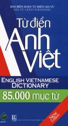Từ điển Anh - Việt 85.000 mục từ