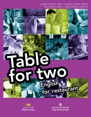 Table for two: English for Restaurant (kèm CD)