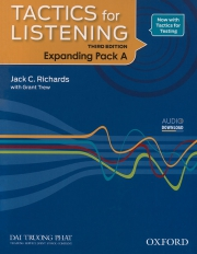 Tactics for Listening - Expanding - Pack A (kèm CD)