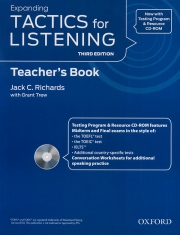 Tactics for Listening - Expanding - Teacher's Book (kèm CD)