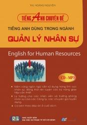 Tiếng Anh dùng trong ngành quản lý nhân sự (kèm CD)