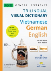 Trilingual Visual Dictionary Vietnamese - German - English - PONS