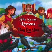 Truyện song ngữ Anh Việt - The seven ravens - Bảy con quạ (bìa cứng)