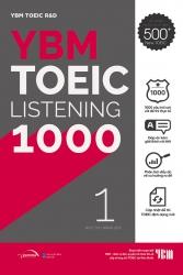 YBM TOEIC Listening 1000 - Tập 1