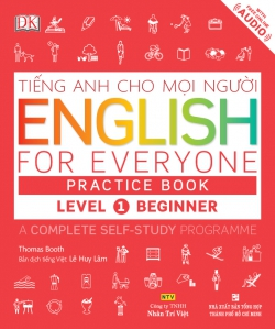 English for Everyone – Level 1 Beginner – Practice Book (kèm CD)
