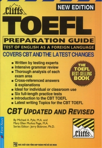 Cliffs - TOEFL Preparation Guide