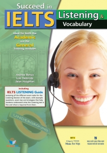 Succeed in IELTS: Listening & Vocabulary (kèm CD)