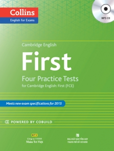 Collins Cambridge English: First – 4 Practice Tests (kèm CD)